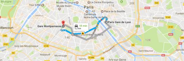 Tarif Taxi Gare Montparnasse Gare De Lyon