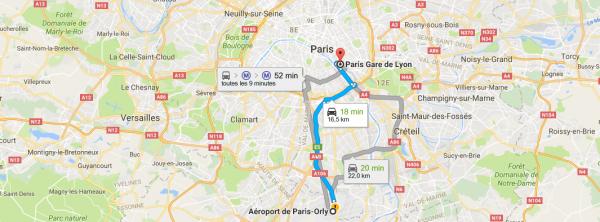 Tarif Taxi Orly Gare De Lyon